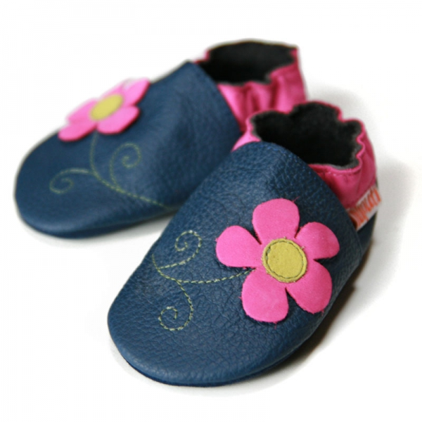 Pantofi cu talpă moale Liliputi® - Spring Flower