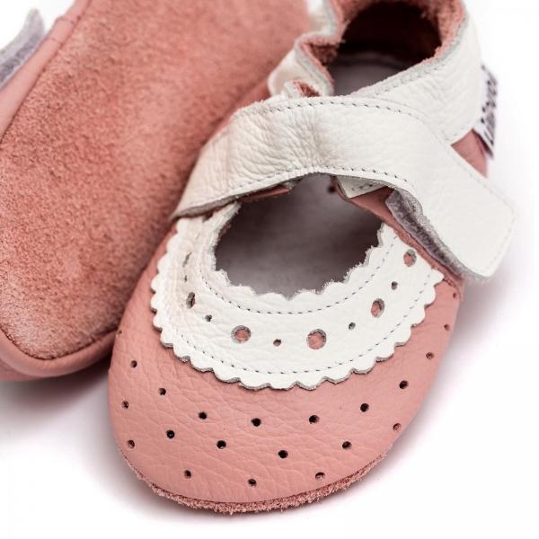 Sandale cu talpă moale Liliputi® - Baby Rose