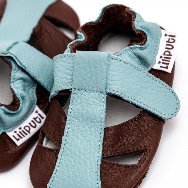 Sandale cu talpă moale Liliputi® - Mount Blanc