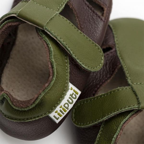 Sandale cu talpă moale Liliputi® - Atacama Brown