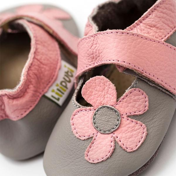 Sandale cu talpă moale Liliputi® - Kalahari Grey