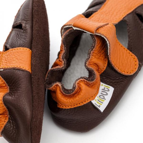 Sandale cu talpă moale Liliputi® - Mars