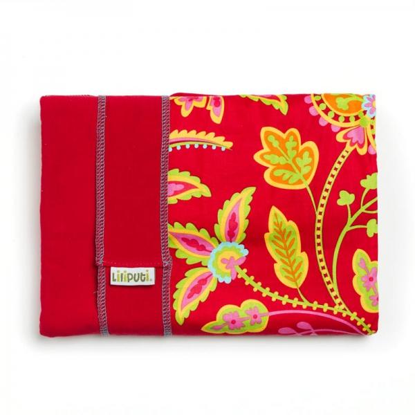 Wrap elastic Liliputi® Rainbow line - Floral Garden