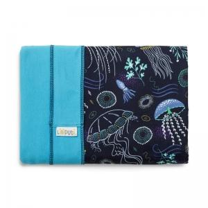 Wrap elastic Liliputi® Rainbow line - Deep Blue